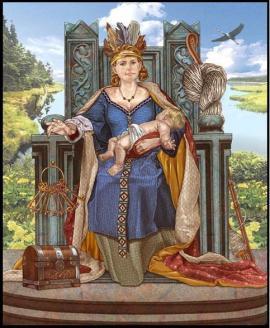 frigga goodess - God Odin
